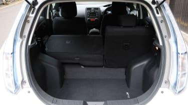 Nissan Leaf Visia boot