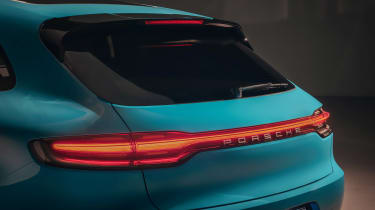 Porsche Macan - rear detail
