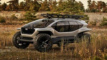 Audi AI:TRAIL concept - front