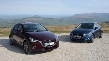 Mazda 2 - refresh header