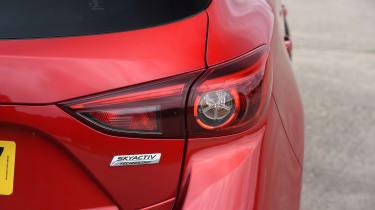 Mazda 3 - rear light detail