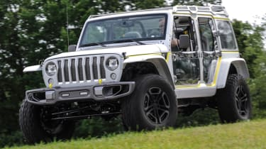 Jeep's wildest concepts driven - Safari front static