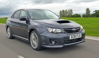 Subaru WRX STi 320R front tracking