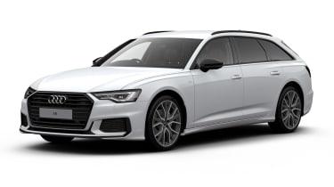Audi A6 Avant Black Edition - front