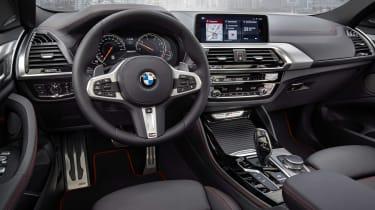 BMW X4 - cabin