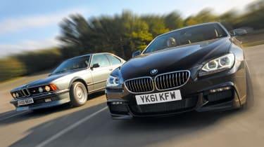BMW 6 Series vs M635 CSi