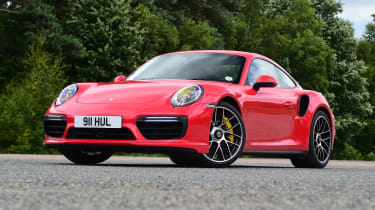 Porsche 911 Turbo S - front static