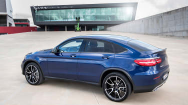 Mercedes-AMG GLC 43 Coupe rear static