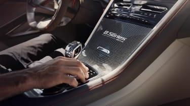 BMW Concept 8 Series - centre console