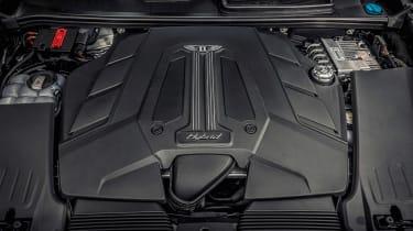 Bentley Bentayga Hybrid - engine