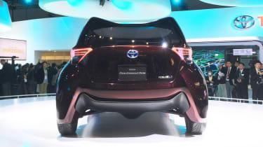 Toyota Fine-Comfort Ride concept - Tokyo full rear