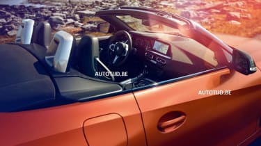 New BMW Z4 cockpit