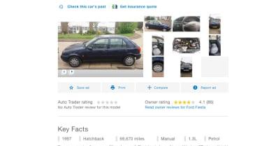 online car ad