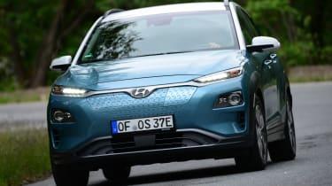 Hyundai Kona electric front