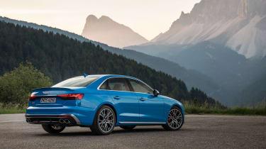 2019 Audi S4 saloon rear
