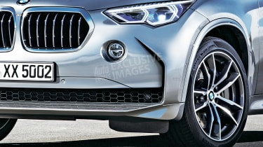 2018 BMW X5 - front detail (exclusive image)