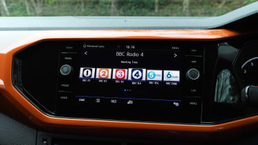 Volkswagen T-Cross - DAB radio
