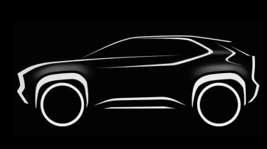 Toyota Yaris SUV teaser