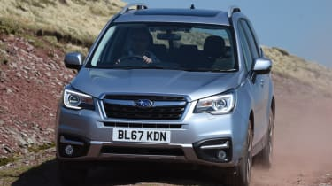 Subaru Forester front end