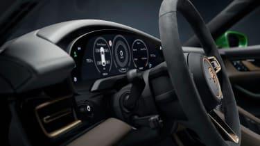 Porsche Taycan Cross Turismo - dials