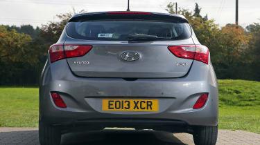 Used Hyundai i30 - full rear