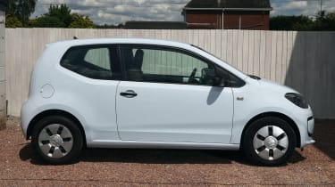 Used Volkswagen up! - side