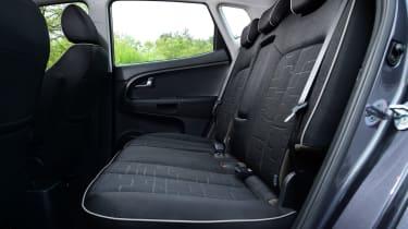 Kia Venga - rear seats