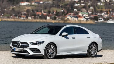 Mercedes CLA - front static