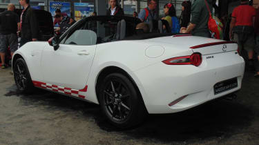 Mazda MX-5 Icon - rear Goodwood