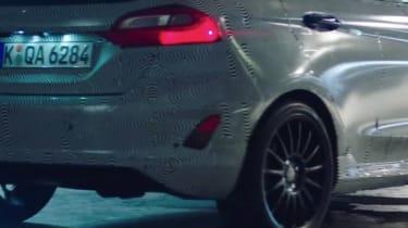 Ford Fiesta ST teaser video