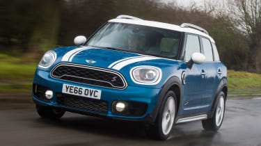 MINI Countryman 2017 - front tracking