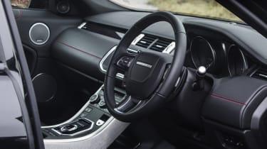 Range Rover Evoque Ember - interior