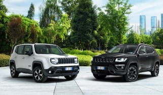 Jeep Renegade and Compass PHEV hybrids
