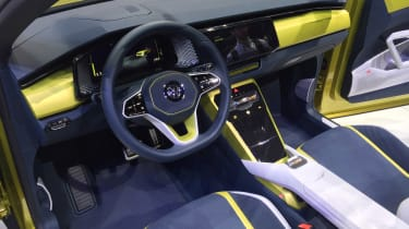 Volkswagen T-Cross Breeze - Geneva show interior