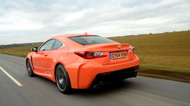 Lexus RC F rear