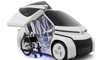 Toyota Concept-i Ride - wheelchair