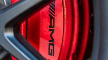Mercedes AMG GLC 63 S - brakes