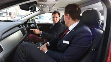 Long-term test review: Jaguar XF - first report dealer talk