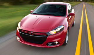 Dodge Dart front tracking