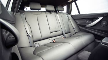 BMW 3 Series Touring - rear seats
