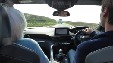 Peugeot 5008 long-term test - driving