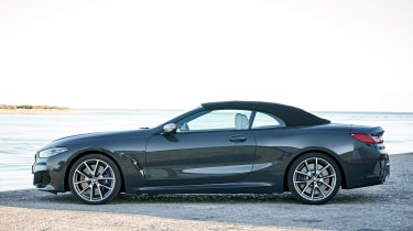 BMW 8 Series Convertible - side roof closed