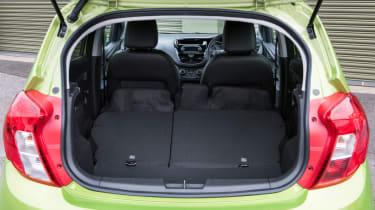 Vauxhall Viva 2015 - boot seats down