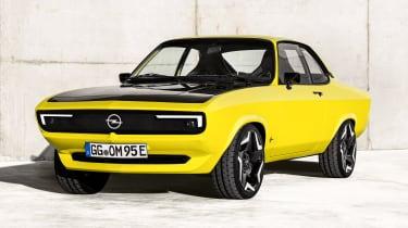 Opel Manta GSe ElektroMOD - front static