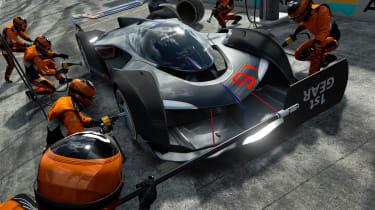 McLaren Ultimate Vision Gran Turismo - pit stop