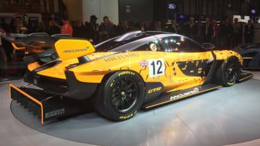 McLaren Senna GTR rear