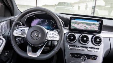 Mercedes C-Class - dashboard
