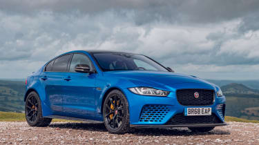Jaguar XE Project 8 - static