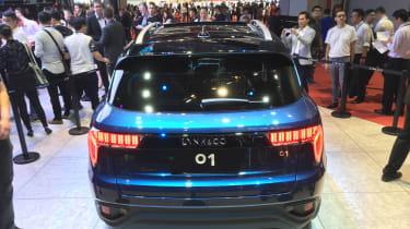 lynk and Co 01 SUV production car Shanghai 2017