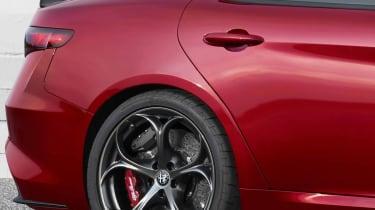 Alfa Romeo Giulia - detail rear wheel